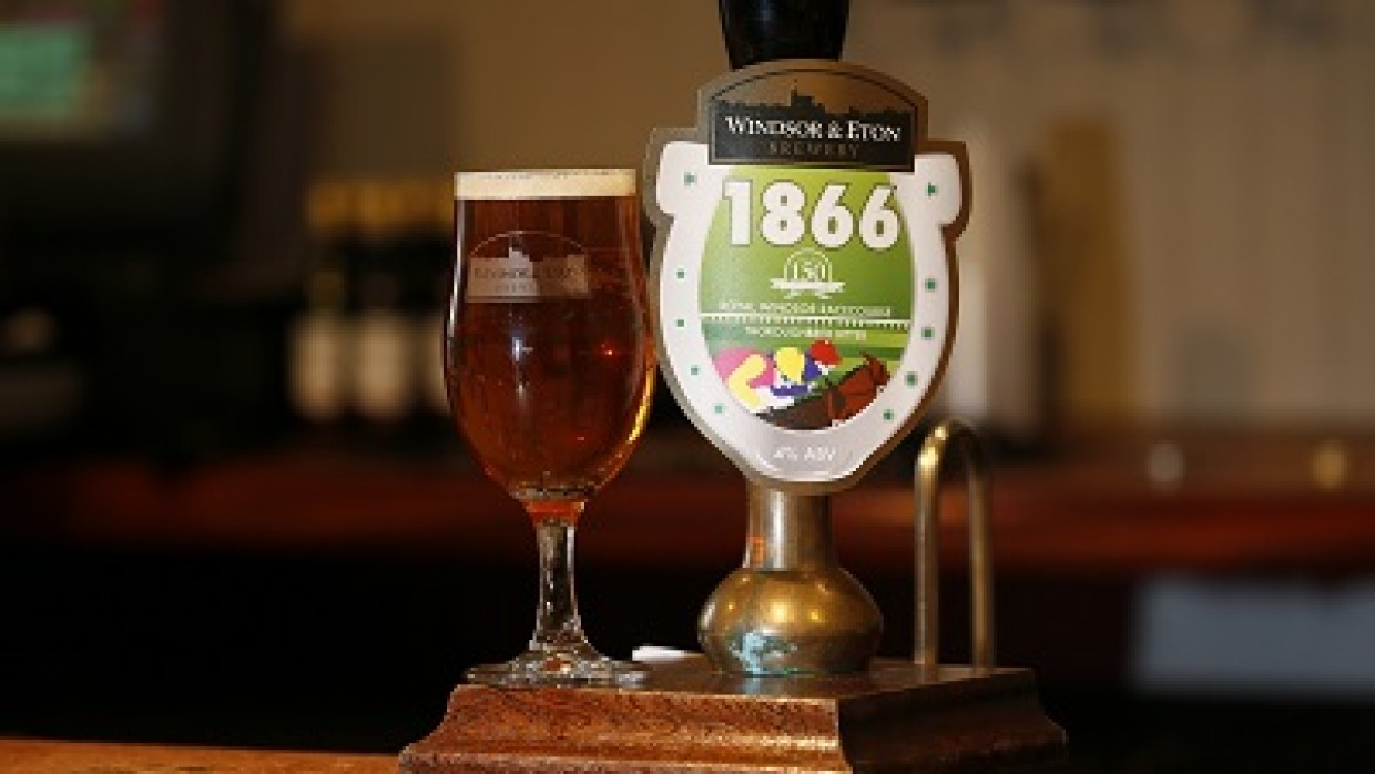 '1866' Royal Windsor Racecourse unveils thoroughbred bitter