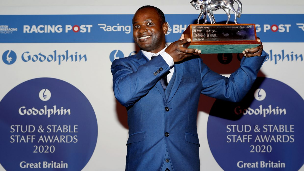 James Frank crowned employee of the year at the 2020 Godolphin Stud and Stable Staff Awards